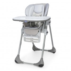 Chaise haute Chicco Polly 2en1 Artic