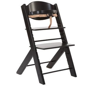 Chaise haute Treppy noir