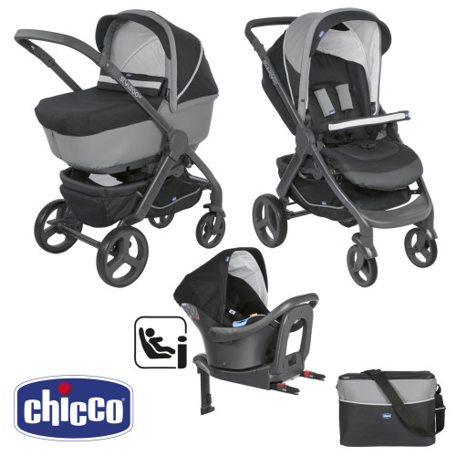 Chicco Trio StyleGo Up i-Size Jet Black