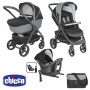Chicco Trio StyleGo Up i-Size Jet Black