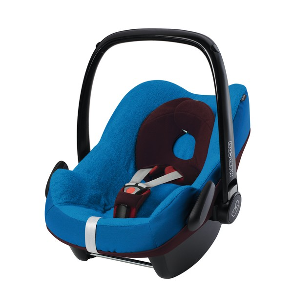 Housse t maxi cosi pebble blue baby center for Housse rehausseur