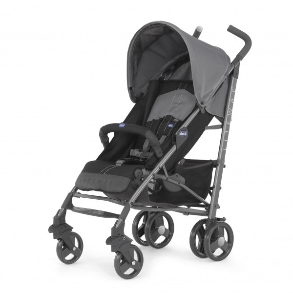 Poussette canne Chicco Liteway 2 Coal - Baby-