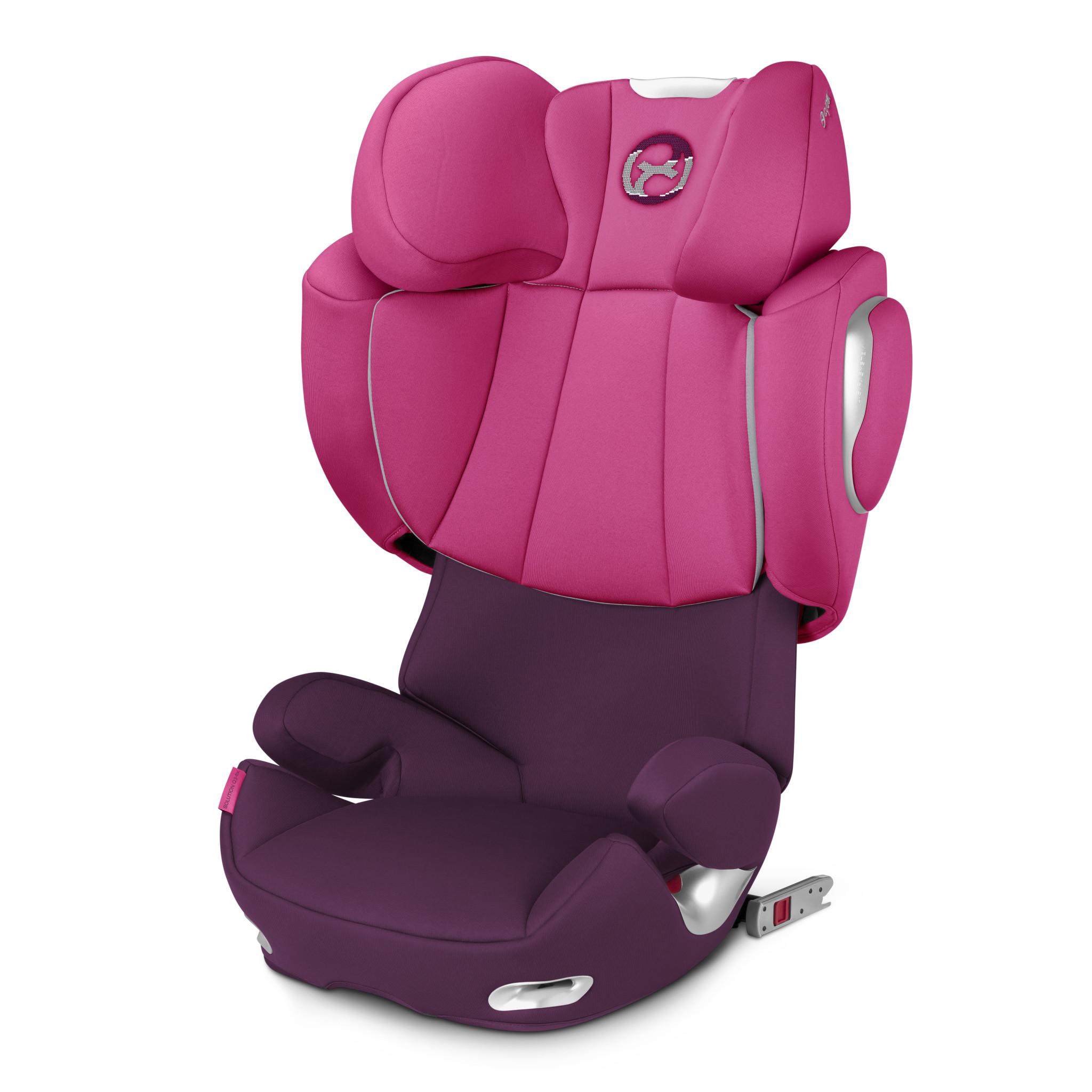 Siège auto Cybex Solution Q3-Fix Mystic Pink