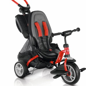 Tricycle Puky CAT S6 Ceety rouge